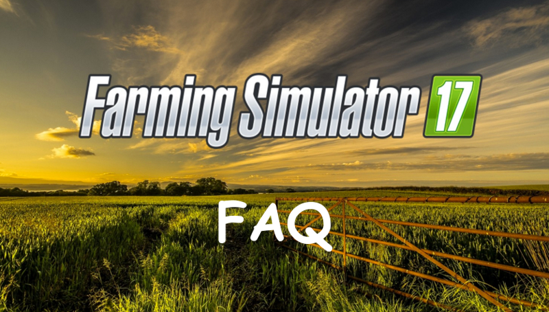 FAQ Farming Simulator